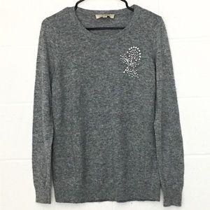 $10 SALE Ann Taylor LOFT Rhinestone Sweater